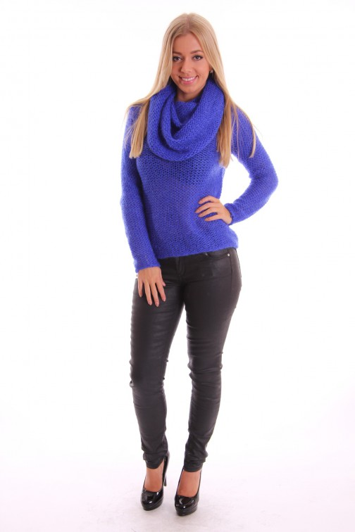 Labee Mohair jumper blue