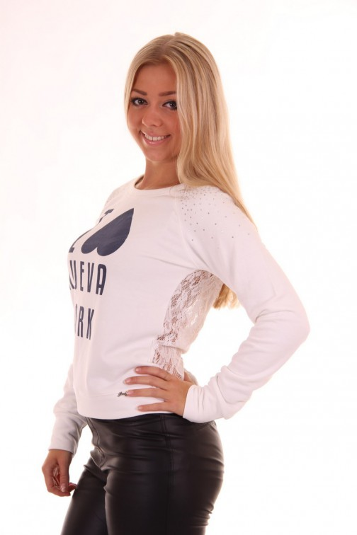 Jacky Luxury NUEVA YORK sweatshirt
