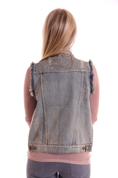 Labee jeans gilet AMY