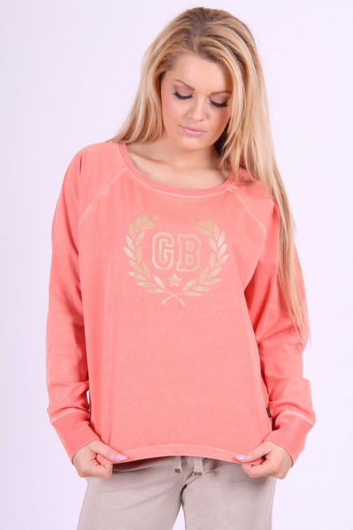 Goldbergh sweater in koraal