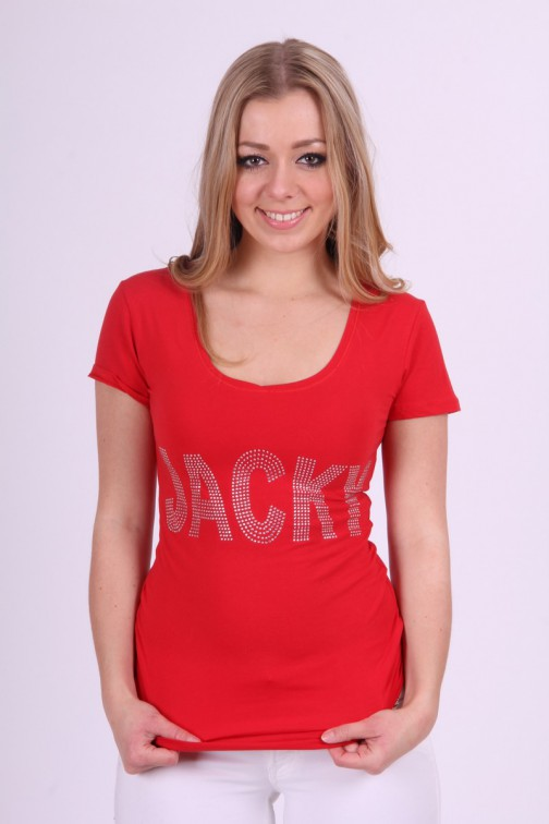 Jacky Luxury shirt in rood