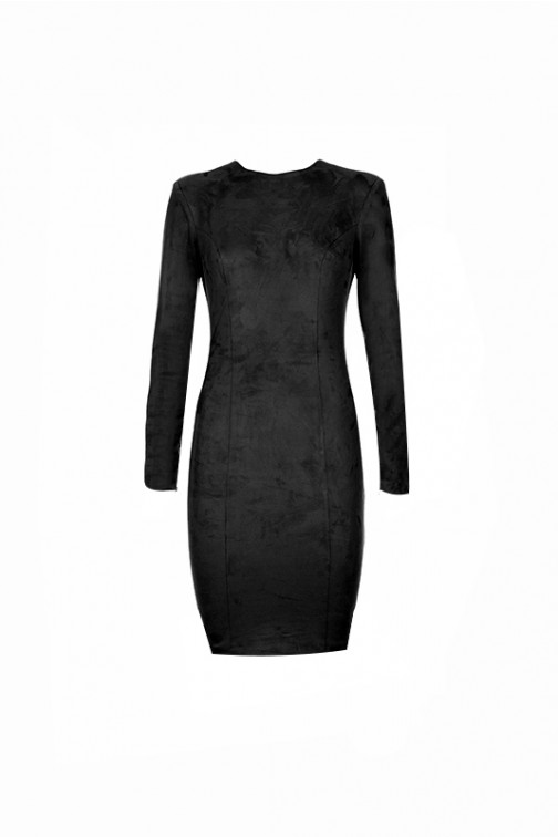 4Lyam Daphne dress in zwart