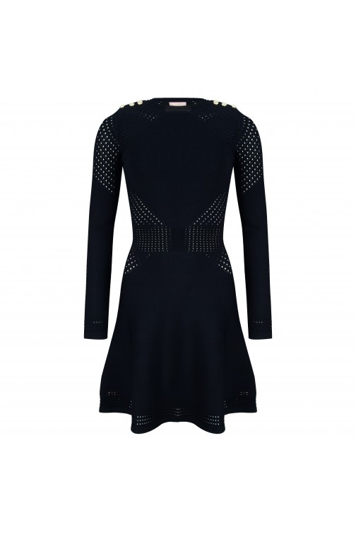 Josh V Rose dress in zwart