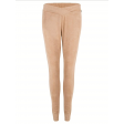 Jacky Luxury suede broek in camel