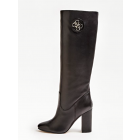 Guess FL8LEELEA11 black leather boots