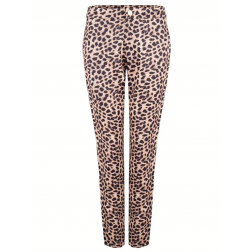 Jacky Luxury broek in Leopard