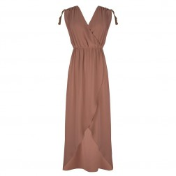 Jacky Luxury maxidress in cappuccino