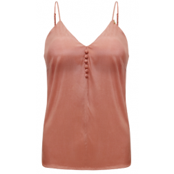 Its Given Shaza top in burnt coral