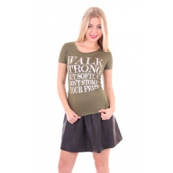 Jacky Luxury shirt in army, SMILE