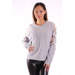 Supertrash sweater Taffic - open sleeves