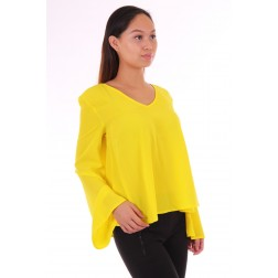 Supertrash top Bembisa - geel