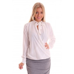 Labee blouse Kane in wit