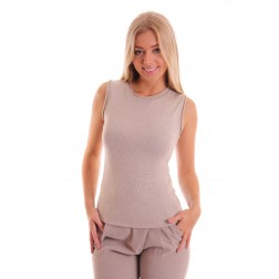 Supertrash Terve top Sand