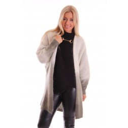 Labee Cardigan mohair army green