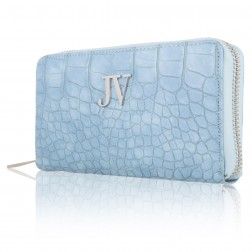 Josh V wallet Waylon, Sea blue